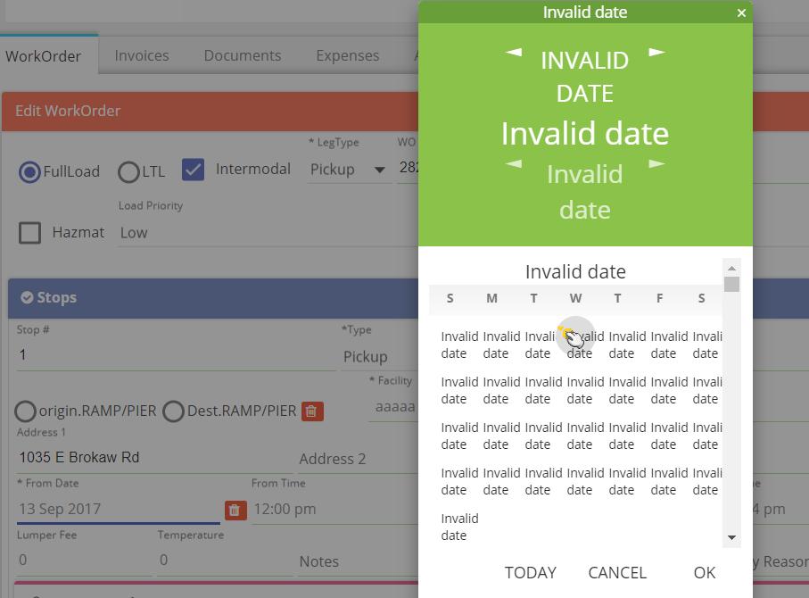Getting Invalid dates   ! pls help :) · Issue #18 · beenote/angular