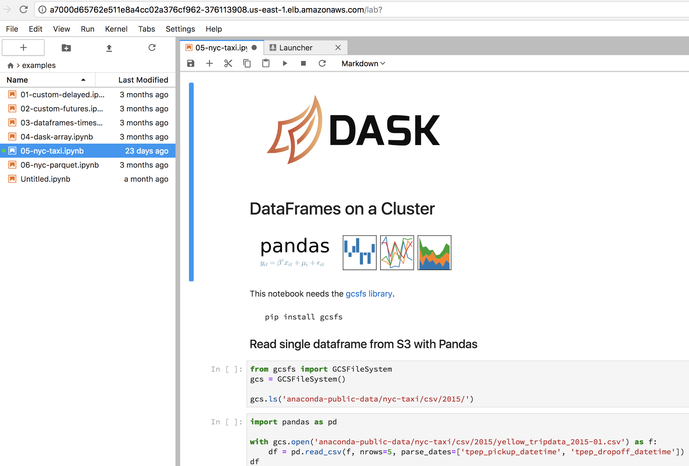 Adding Dask and Jupyter to a Kubernetes Cluster