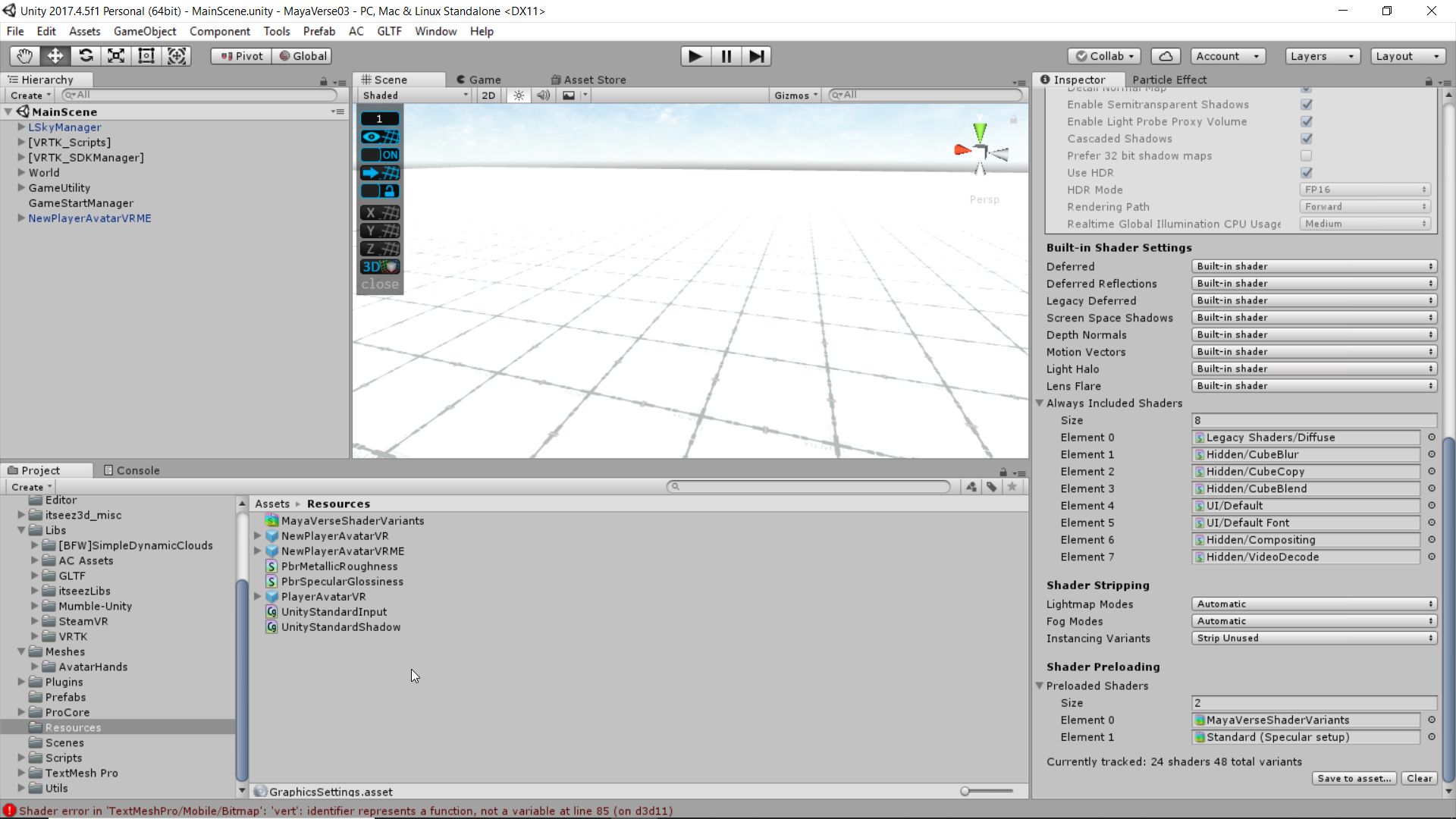 How to Build Unity Game using UnityGLTF (Shaders problem