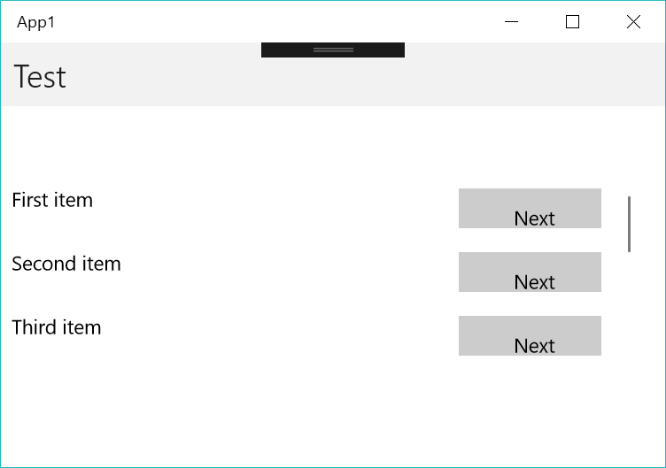 ListView ScrollTo doesn't animate on UWP · Issue #2048