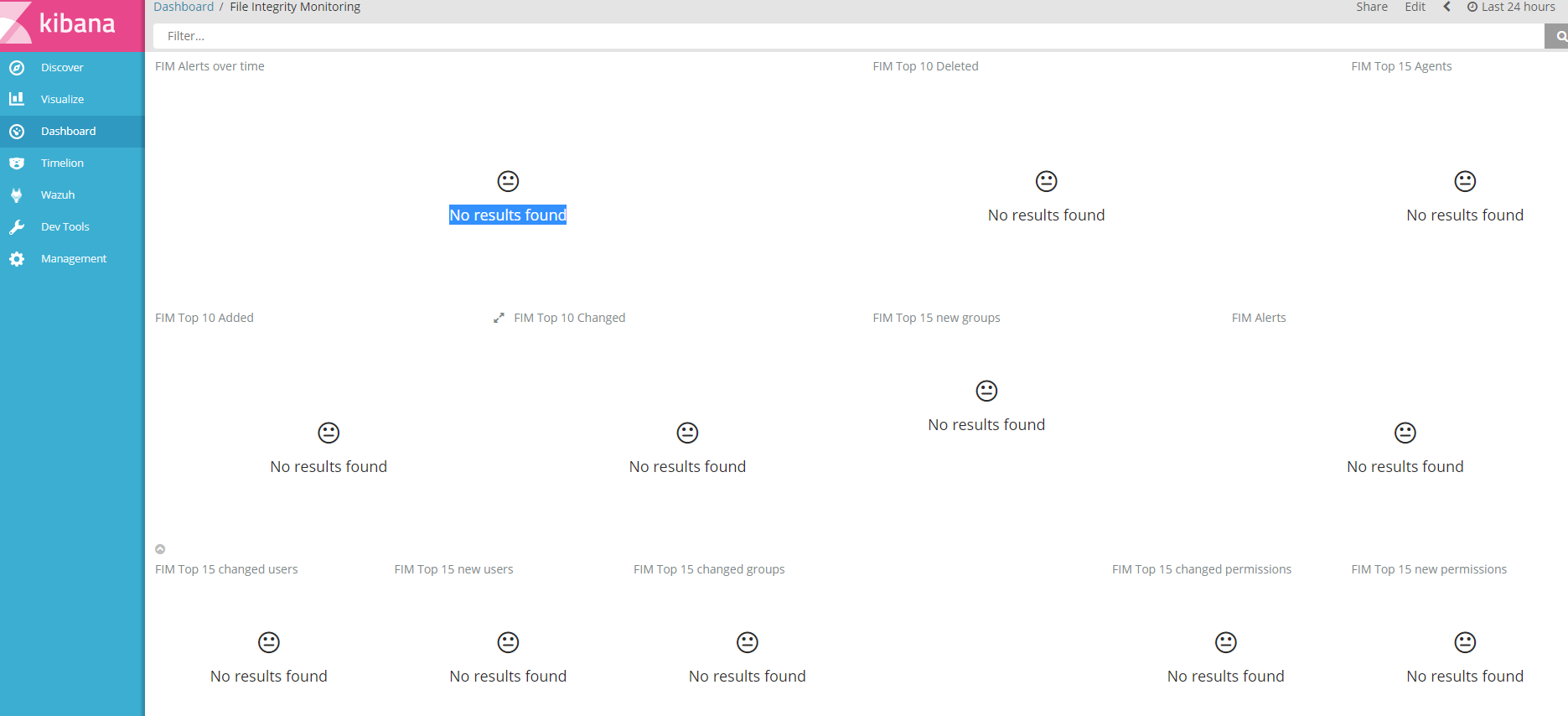 dashboard file intergrity :No results found · Issue #37