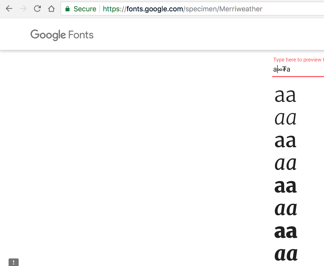 Update Merriweather · Issue #8 · google/fonts · GitHub
