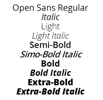 Open Sans, Roboto and Roboto Slab NAME table issues in WinWord