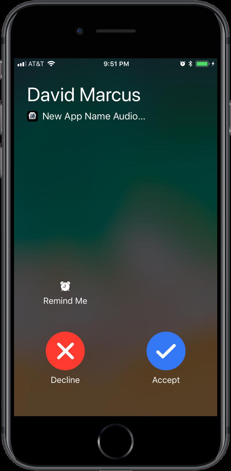 CordovaCall Change App Name iOS CallKit