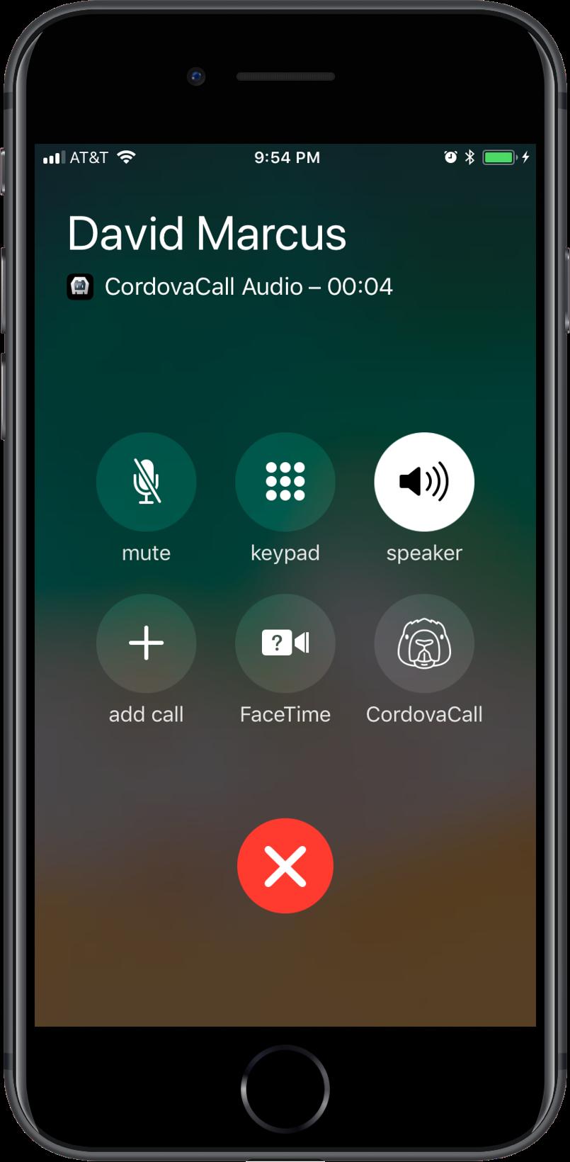 CordovaCall Custom Icon iOS CallKit