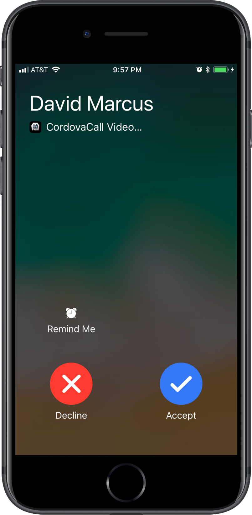 CordovaCall Video Instead Of Audio iOS CallKit