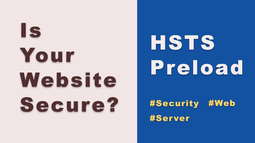 What is hsts preload?