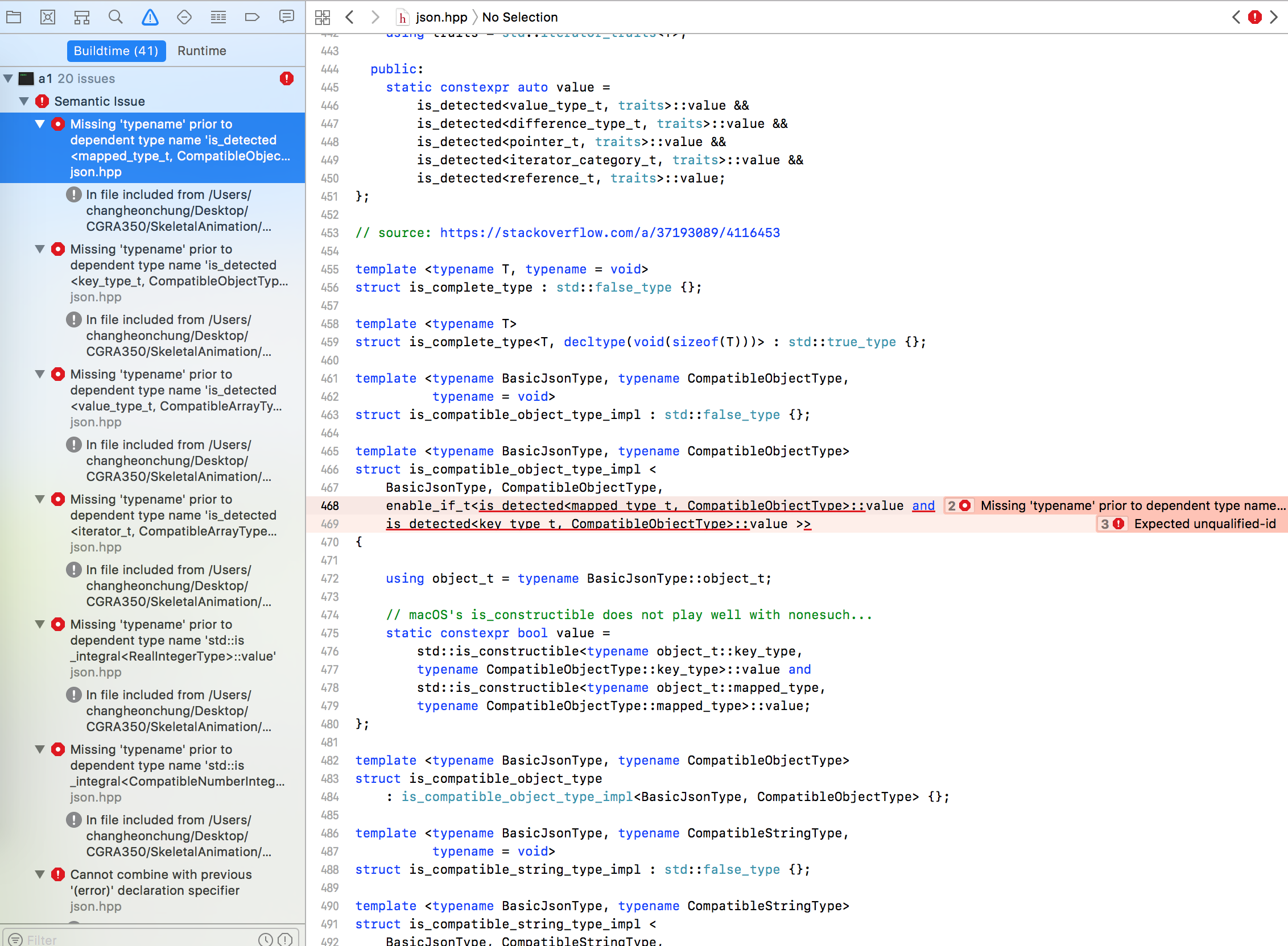 Xcode - adding it to library · Issue #1300 · nlohmann/json