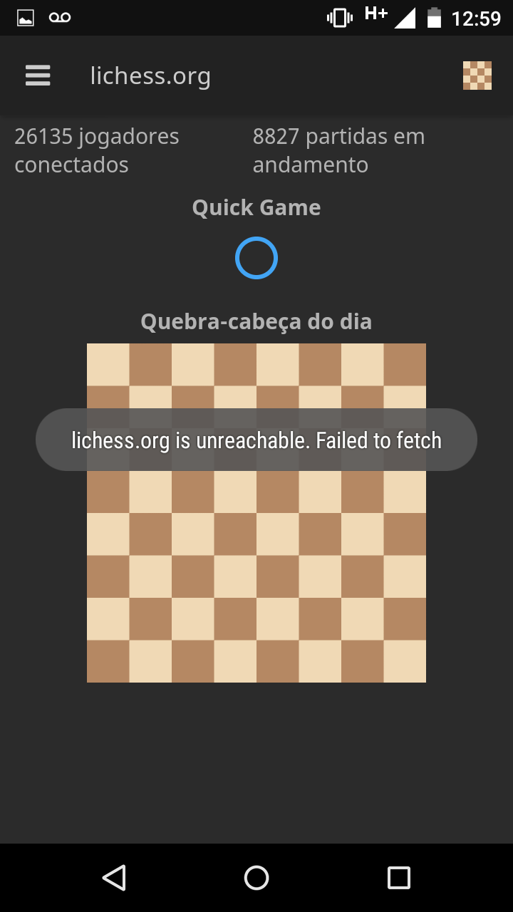 lichess servers unreachable  Failed to fetch · Issue #897 · veloce
