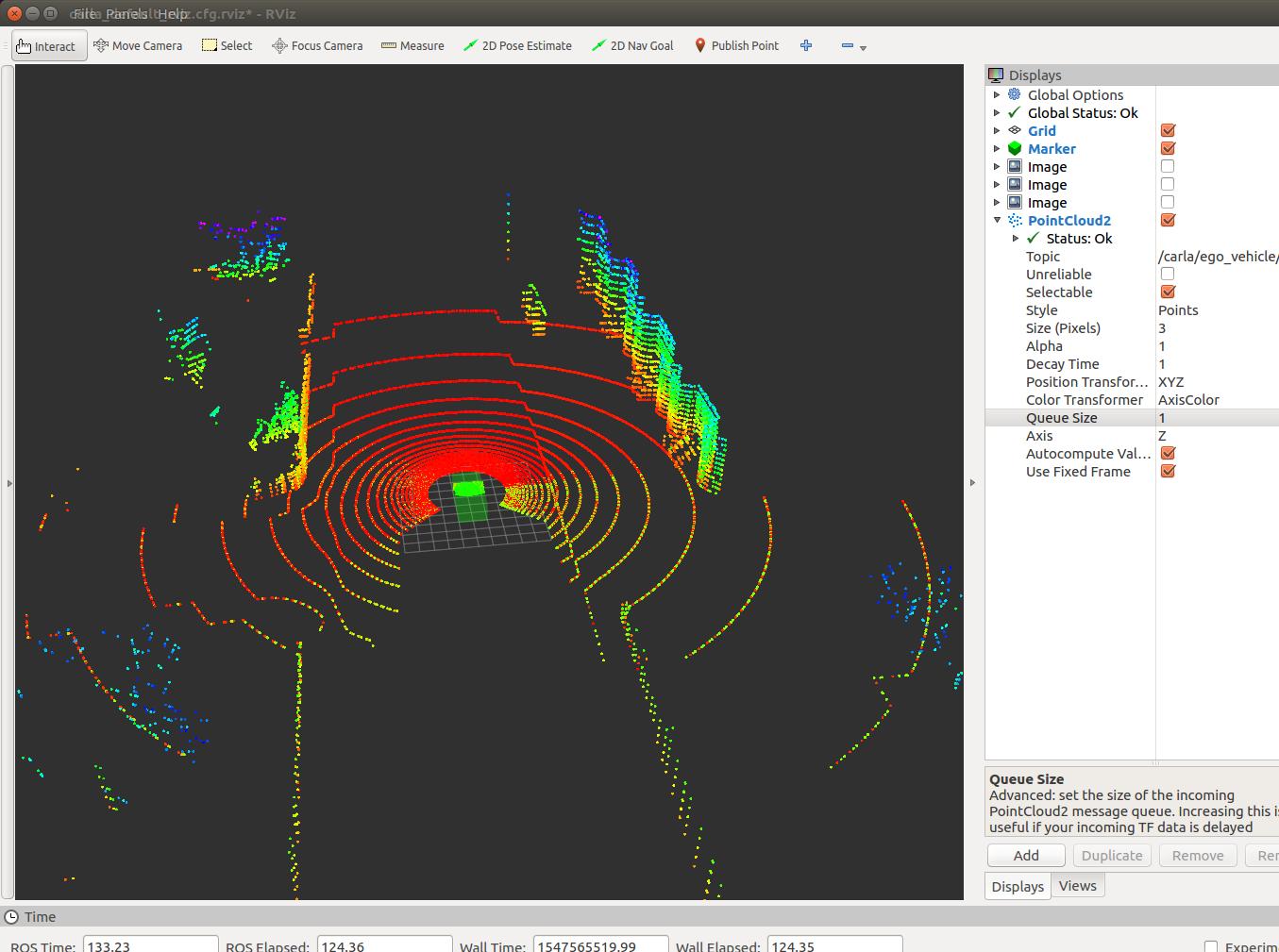 Incorrect visualization of LiDAR · Issue #32 · carla-simulator/ros