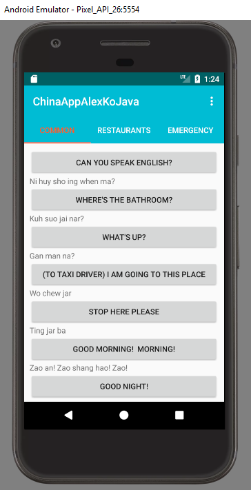 Chinese phrase and travel app – datanonymous
