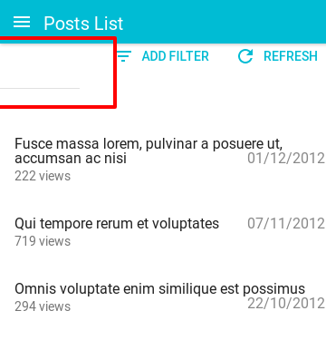 Filter form partially hidden with mobile device · Issue #754