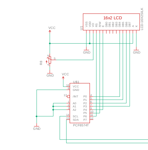 i2c problem with lcd display 16x2 · Issue #2444 · espressif/arduino