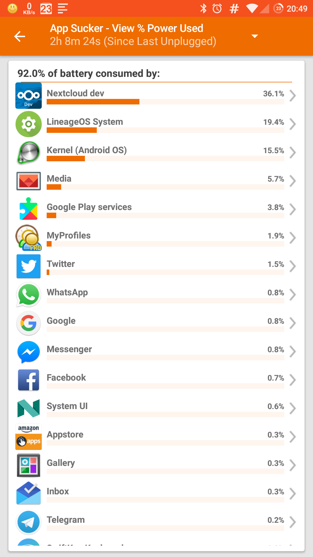 1 4 2 file system polling battery drain · Issue #746 · nextcloud