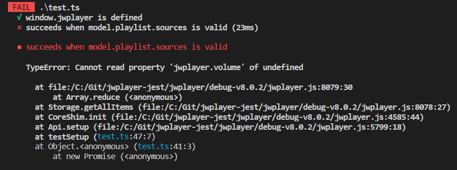 cannot read property 'jwplayer volume' of undefined · Issue