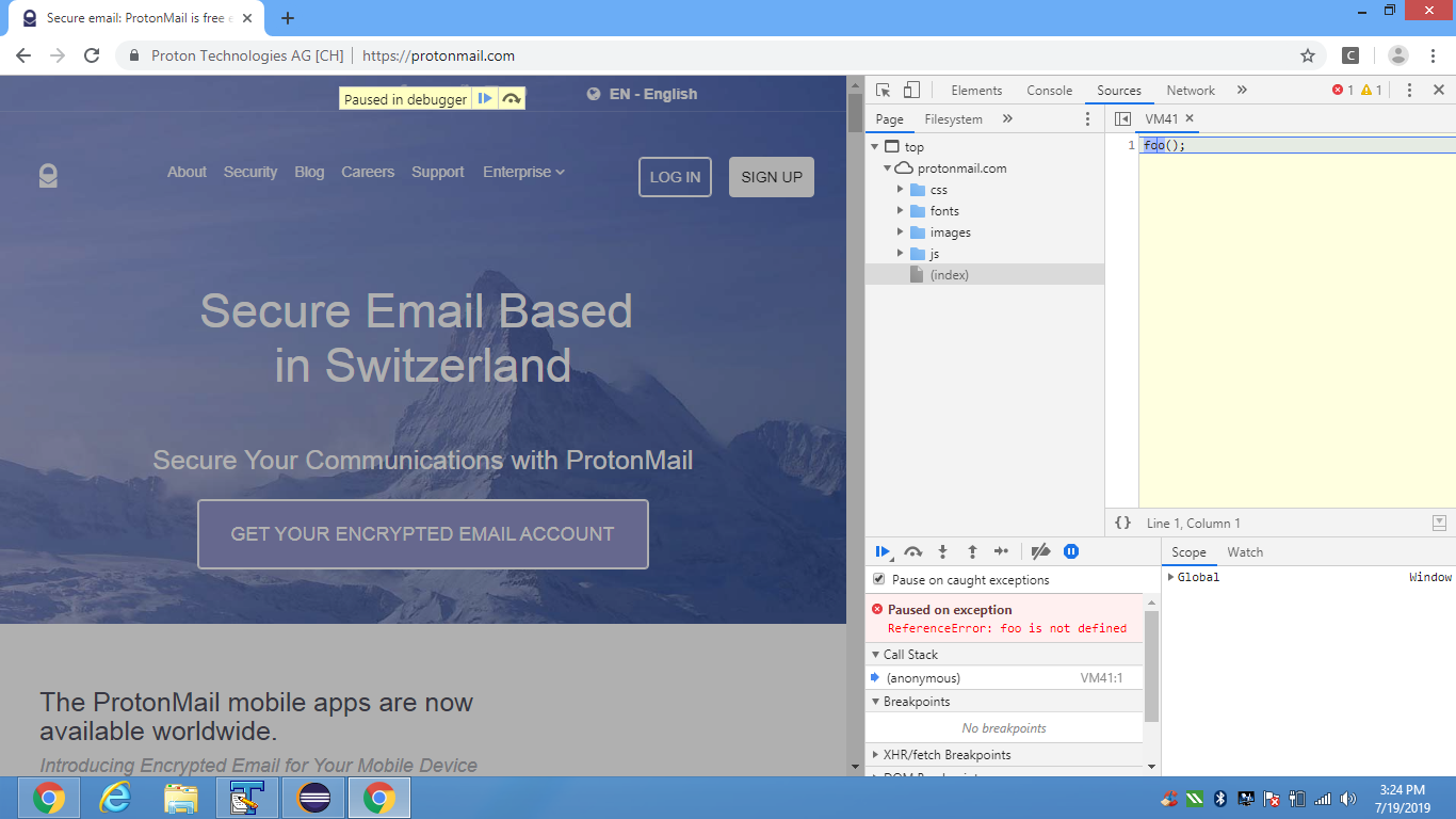 Set Proxy Chrome Webdriver
