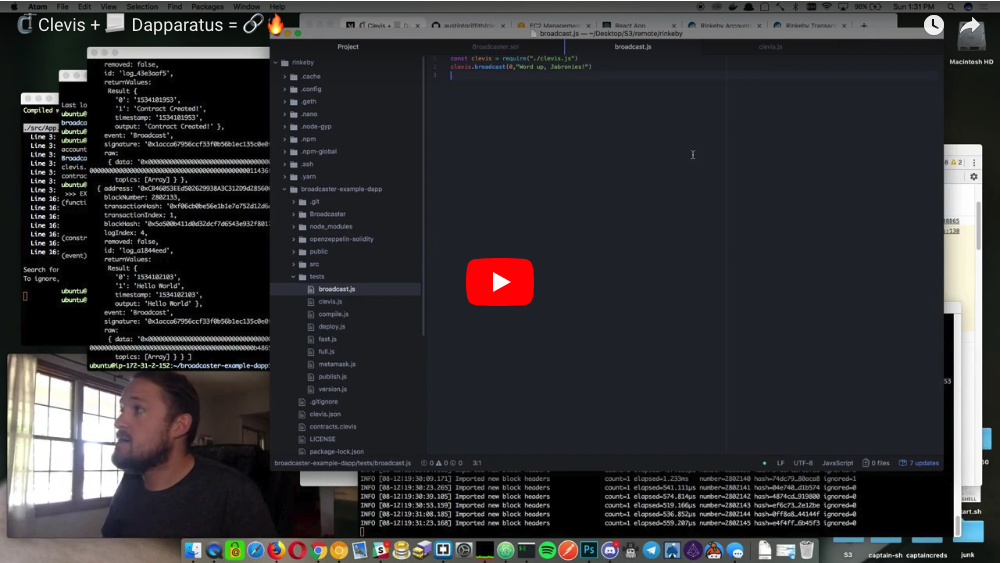 Clevis Demo Video