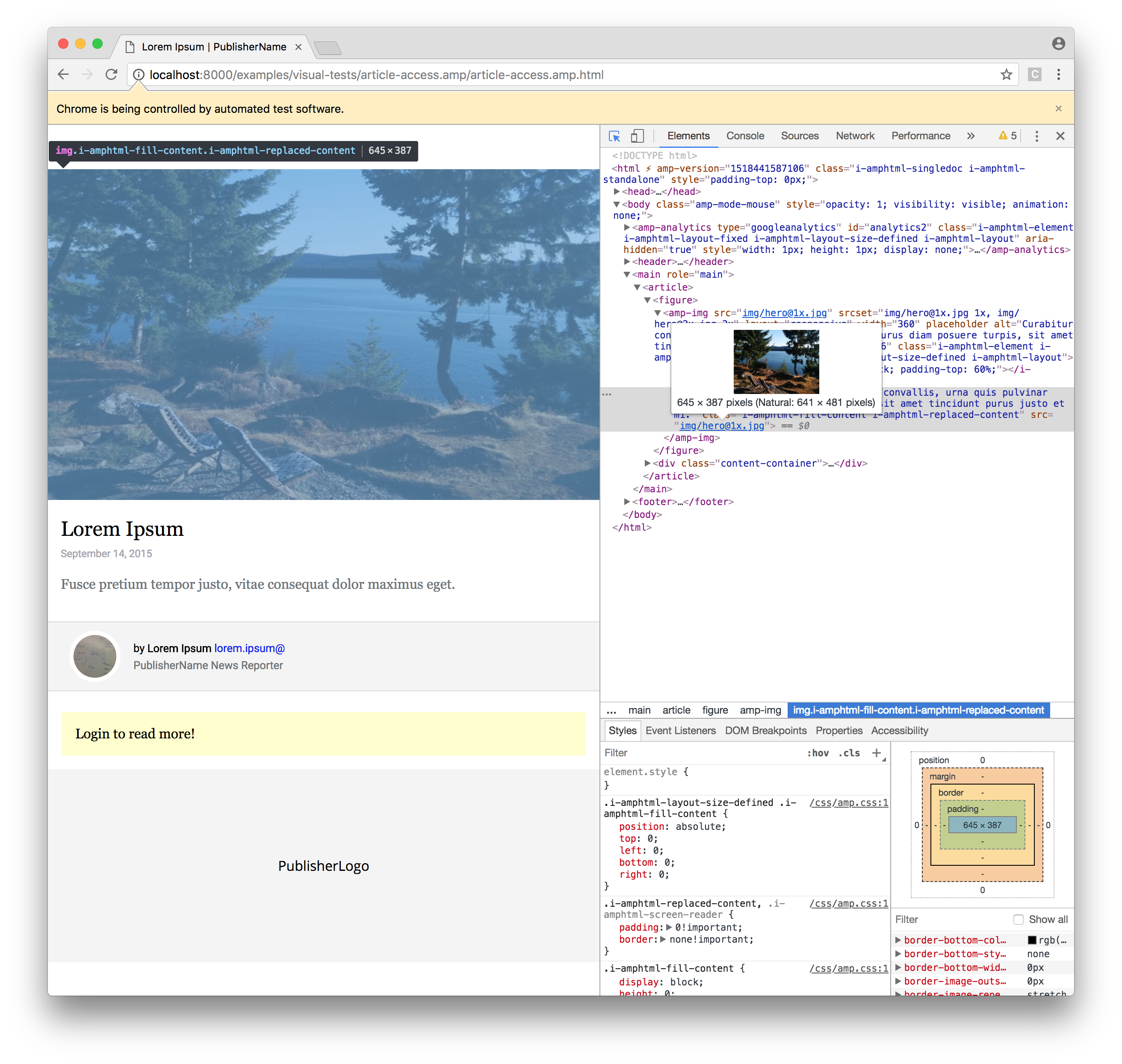 Enabling javascript causes images to double in height · Issue #51