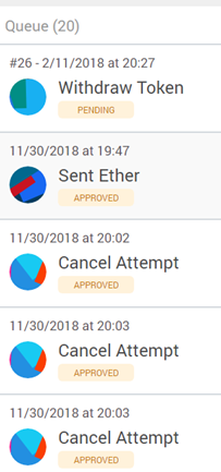 Many transactions pending in Metamask, but none came through