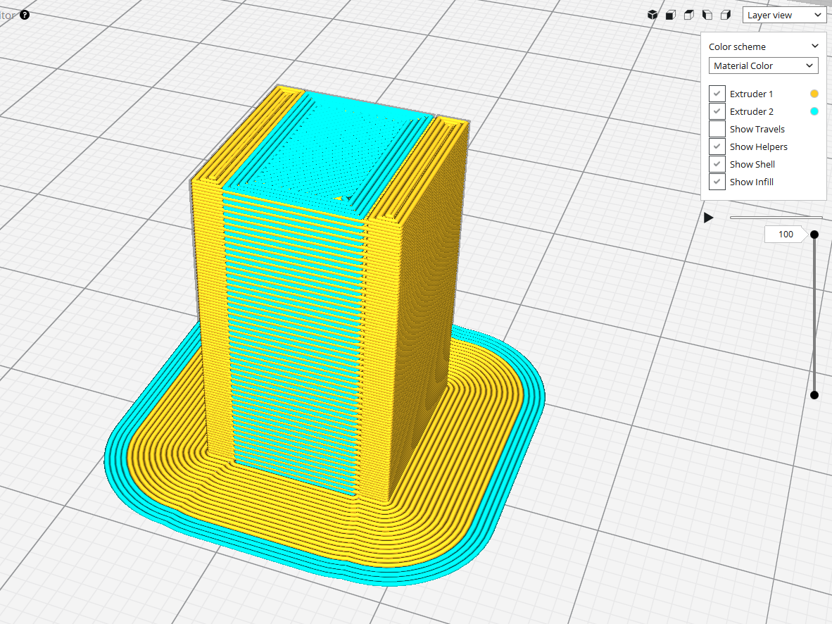 Improved prime tower behavior · Issue #2608 · Ultimaker/Cura · GitHub