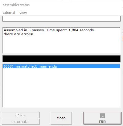 8086 Snake game MASM compatible · GitHub