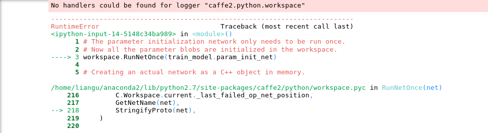 Developers - [Caffe2] MNIST Tutorial LMDB Error