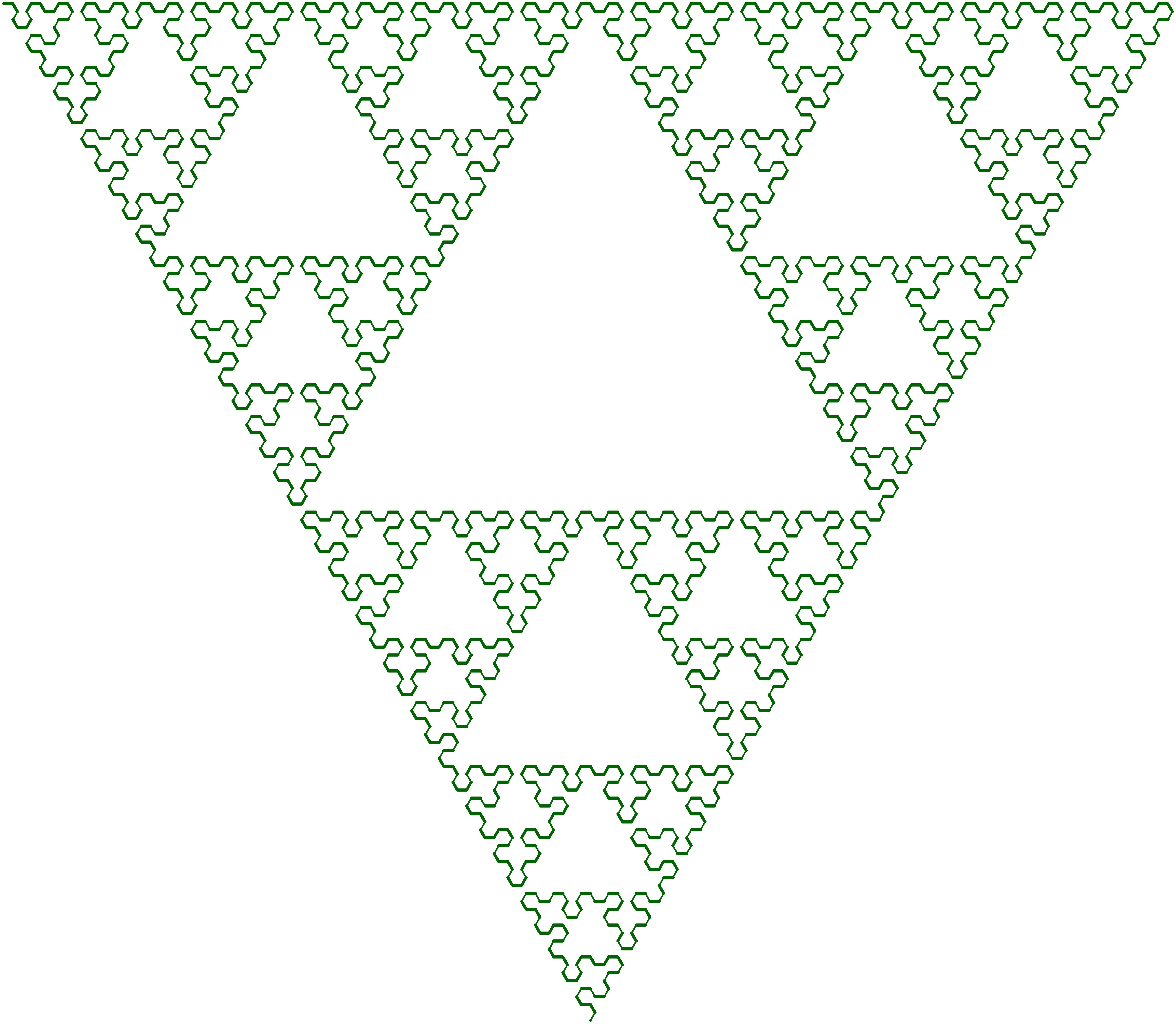 Sierpinski Arrowhead