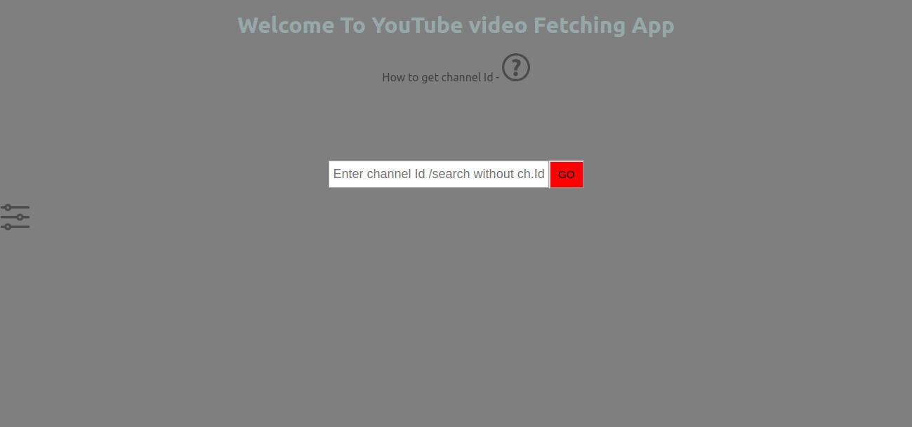 GitHub - jayprakashkumar1/youtubeApi: This Repository is all