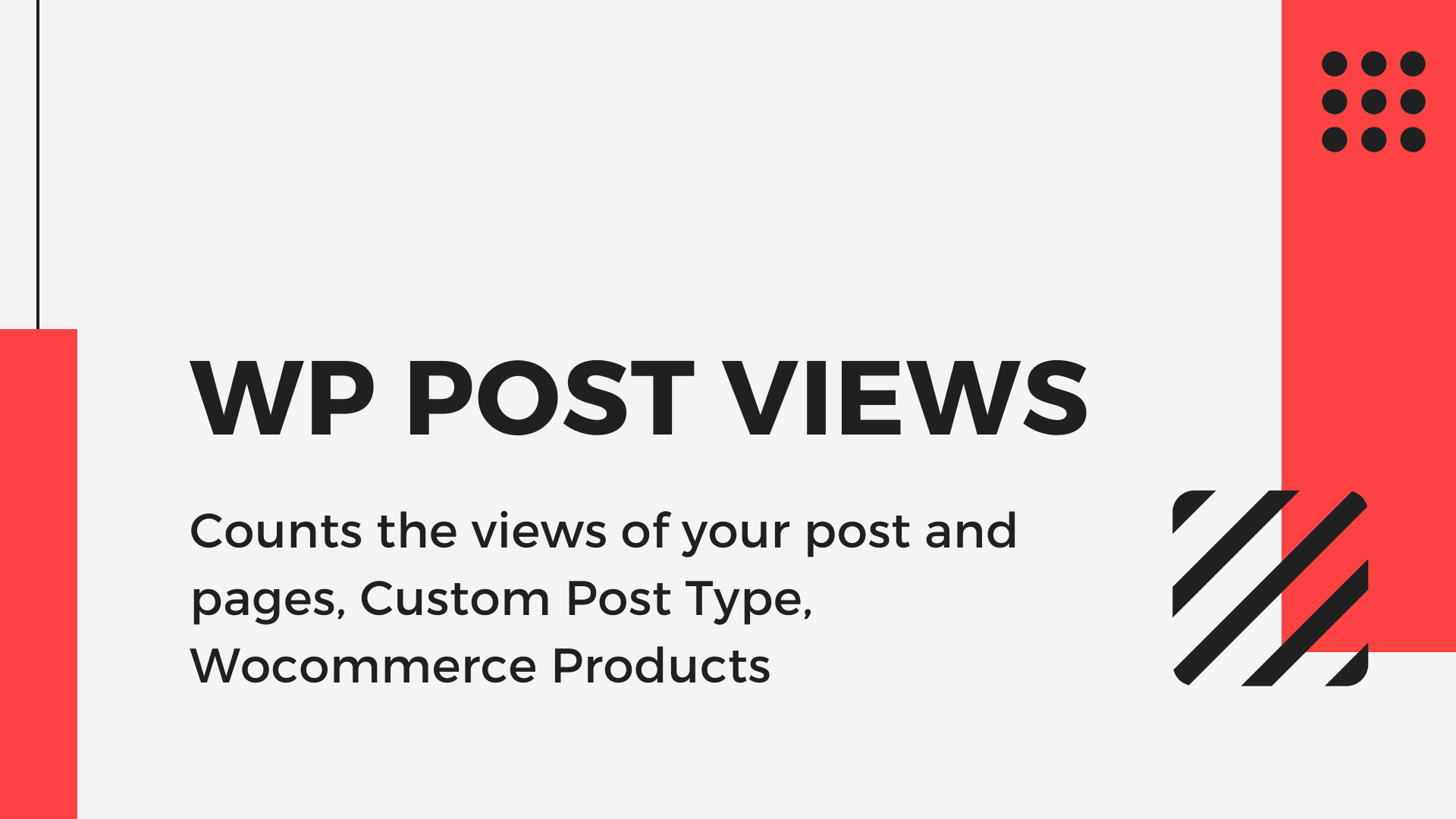 How to use WP Post Views