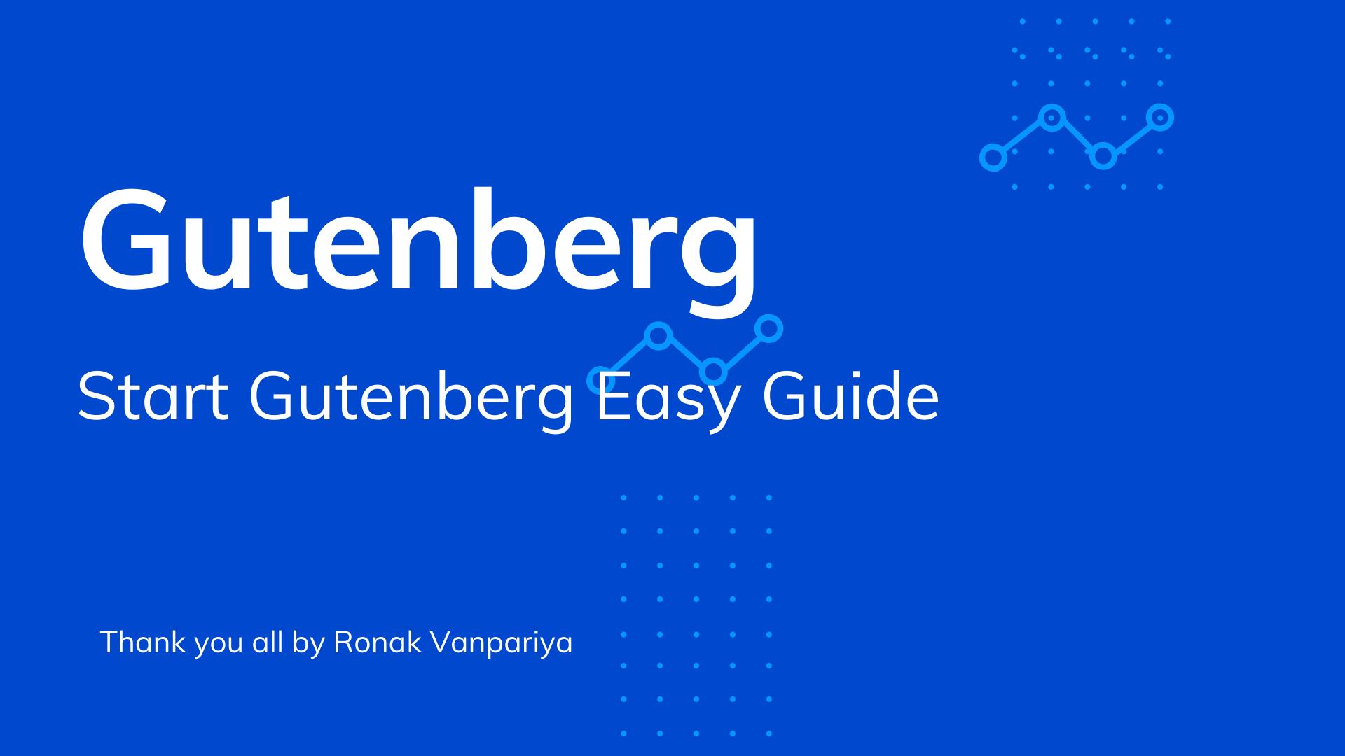 How to Start With Gutenberg Editor Custom Block Development