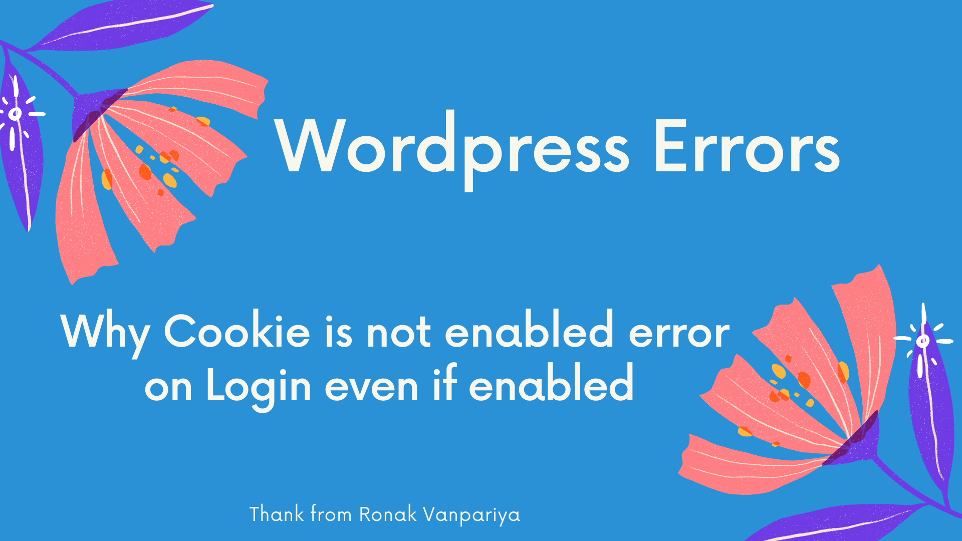 Your Browser Does Not Support Cookie Wordpress
