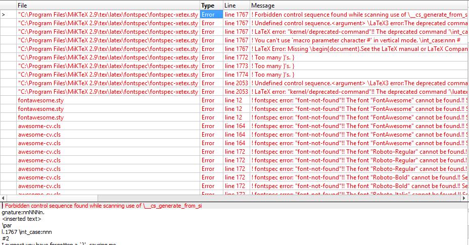 compilation error  u00b7 issue  147  u00b7 posquit0  awesome