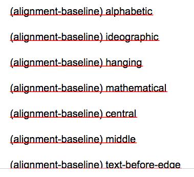 alignment baseline ff
