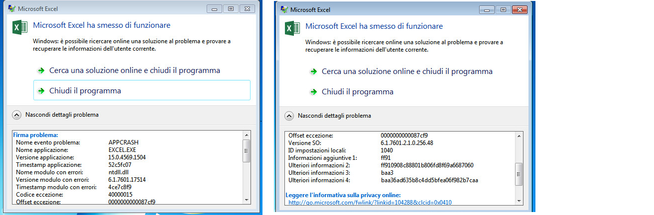 excel 2013 problems opening files