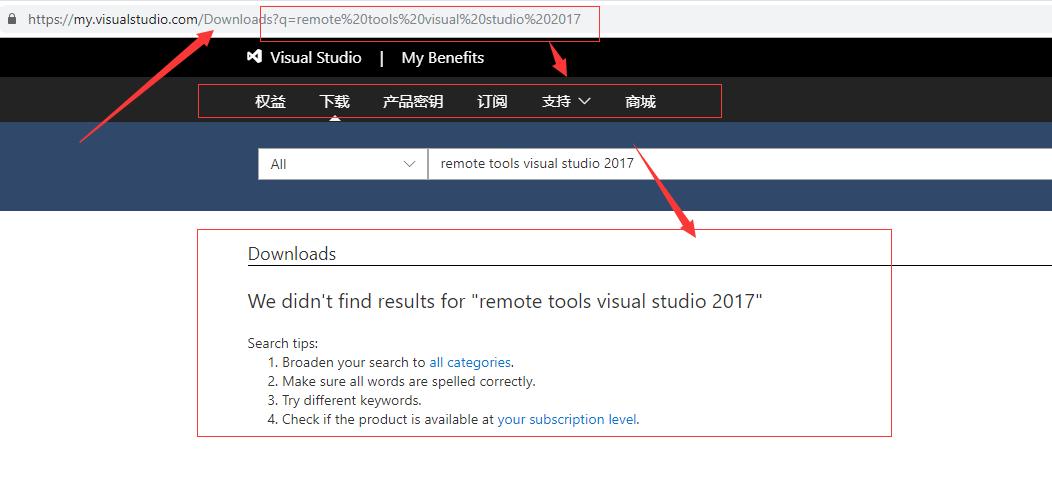 visualstudio remote tool download url error · Issue #3241