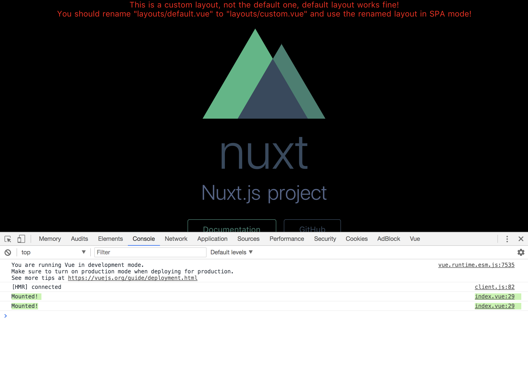 Bug] Pages mount twice · Issue #1791 · nuxt/nuxt js · GitHub