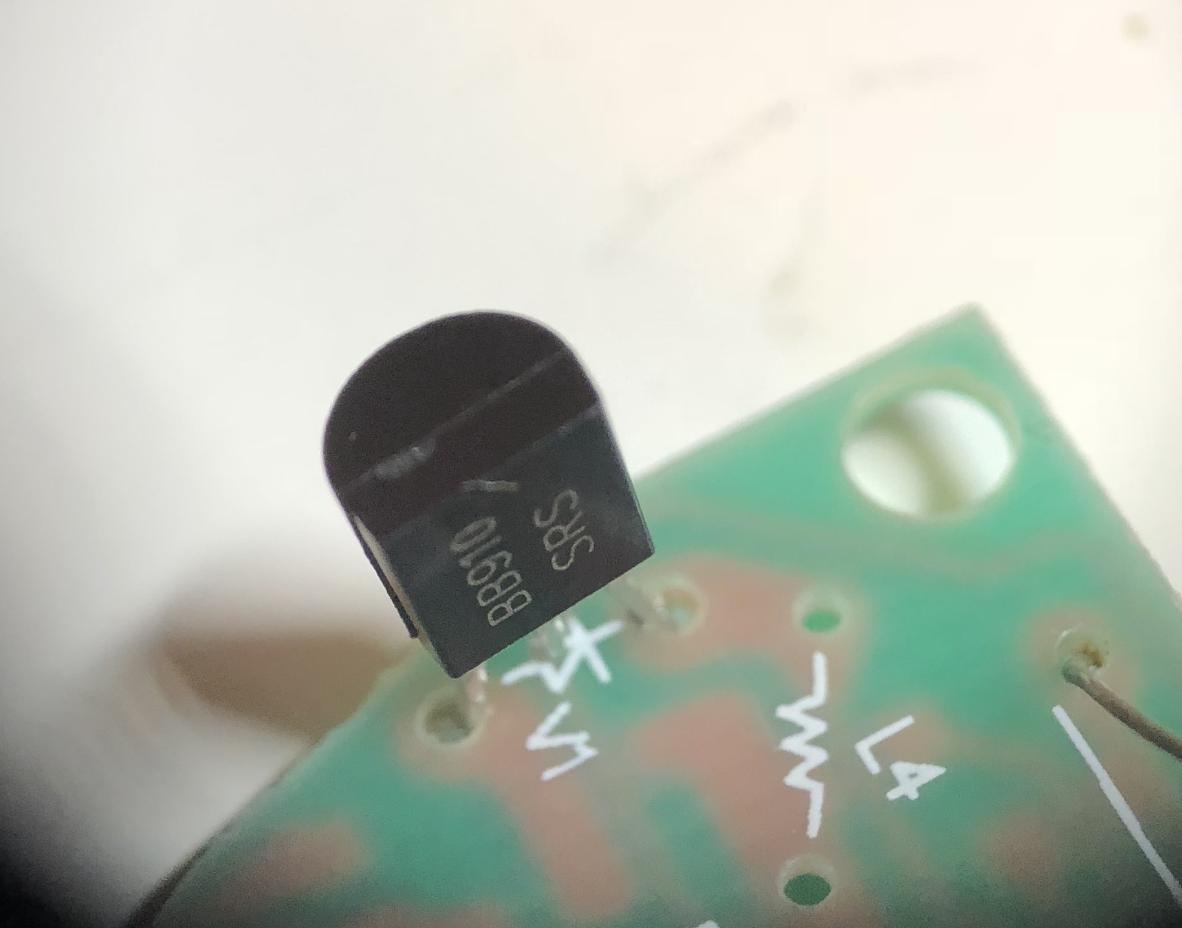 BB910 SRS soldered