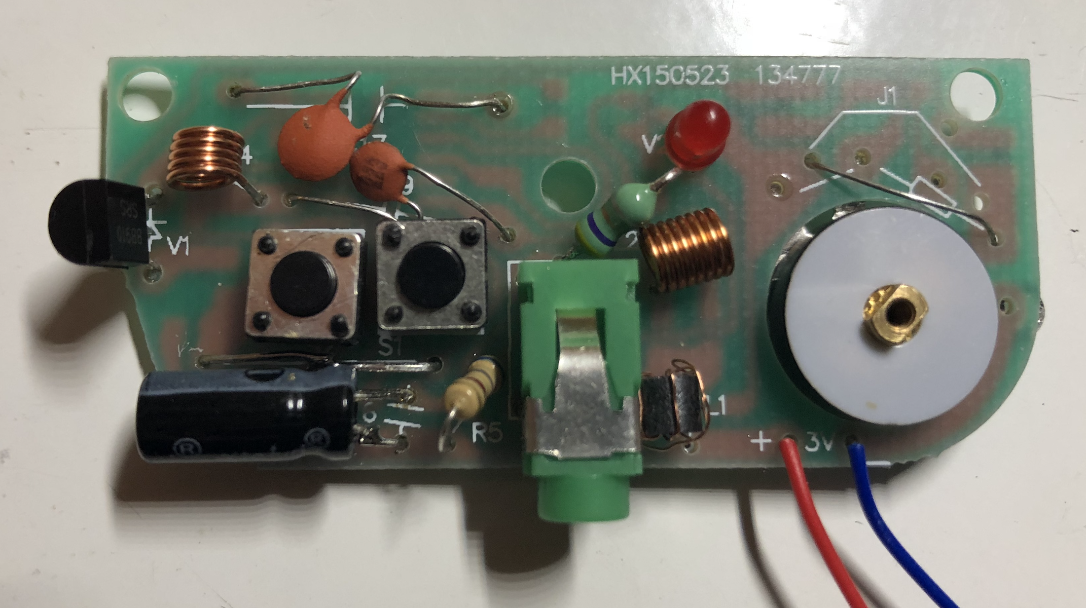 Inductors soldered and more