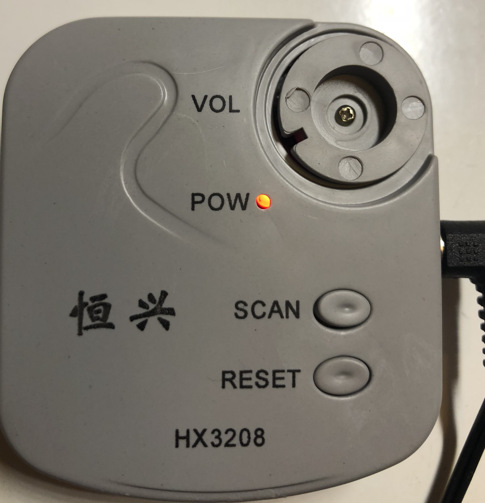 Pot screw correct