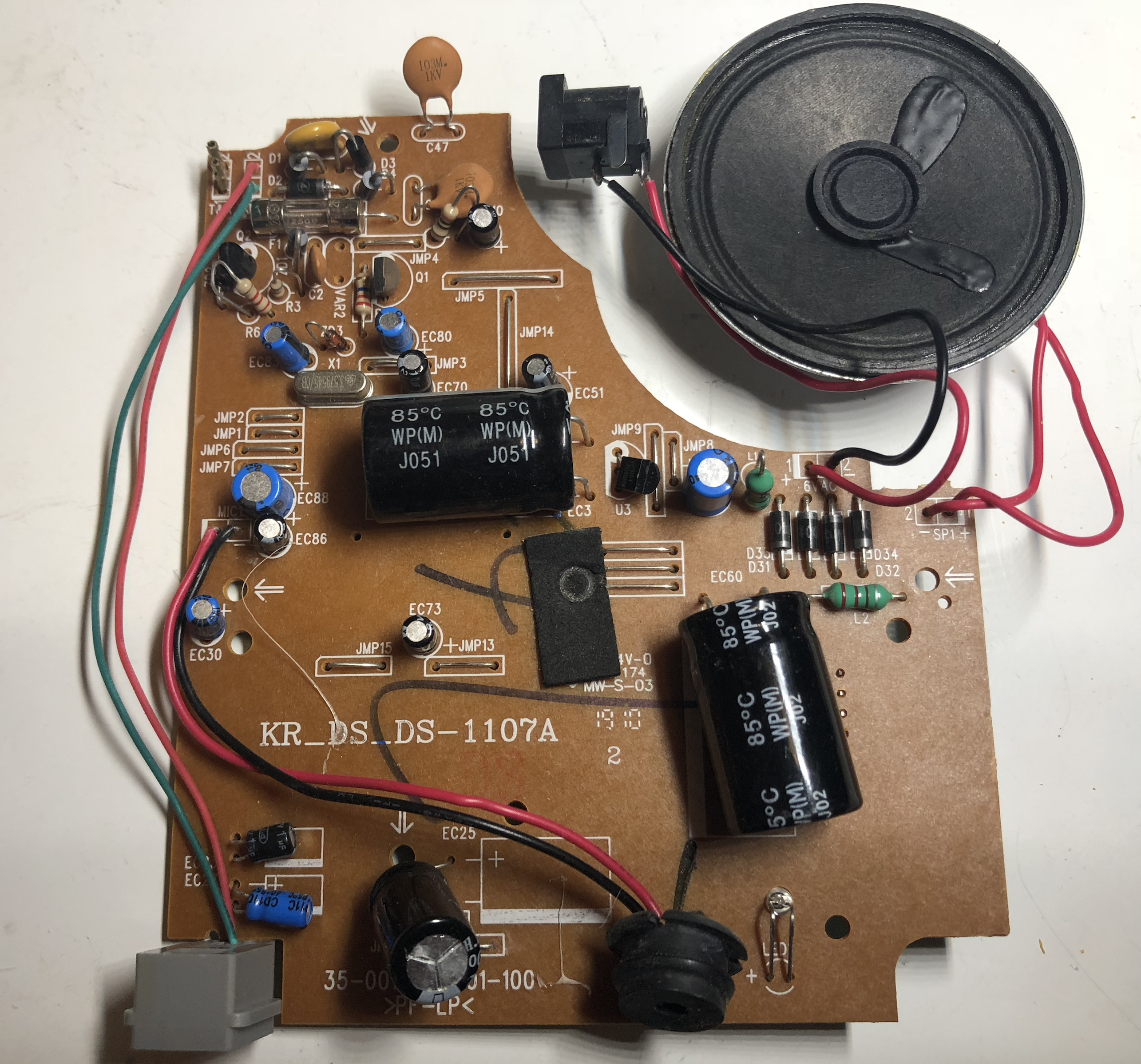 Circuit board front