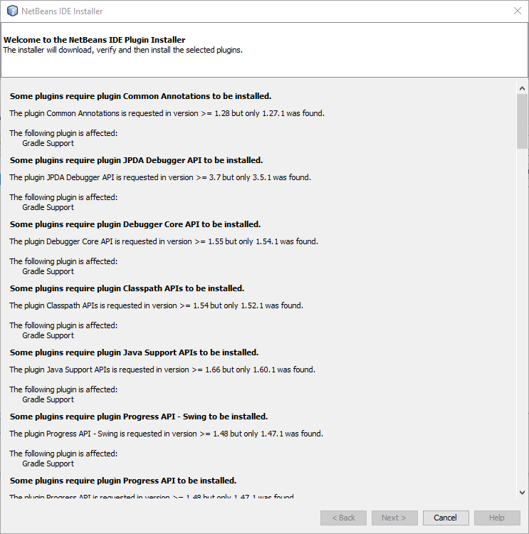 NetBeans no longer has the latest release · Issue #375