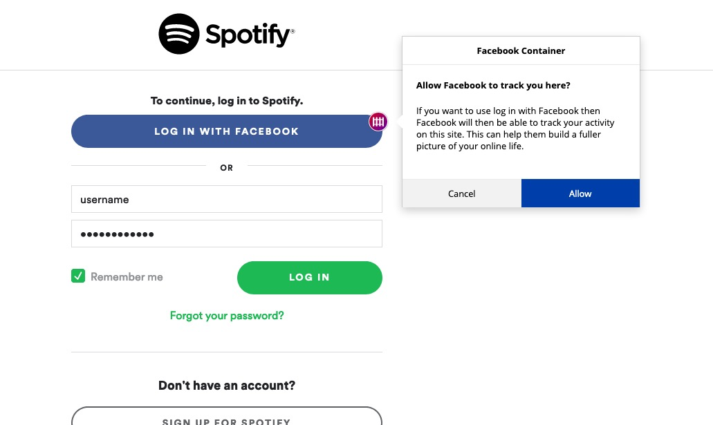 How To Log Into Spotify With A Different Facebook Trouble