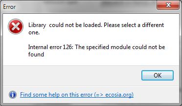 MySQL connection failure