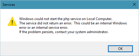 Install Issues (PHP Service) · Issue #422 · causefx/Organizr