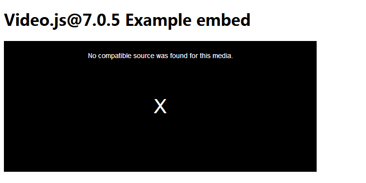 Help sincerely : Video js can not work in Firefox! · Issue