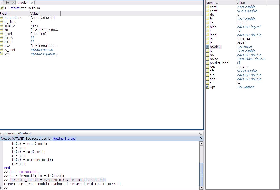 Error when using svmpredict in matlab · Issue #132 · cjlin1/libsvm