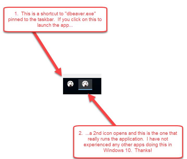 windows 10 right click taskbar icons not working