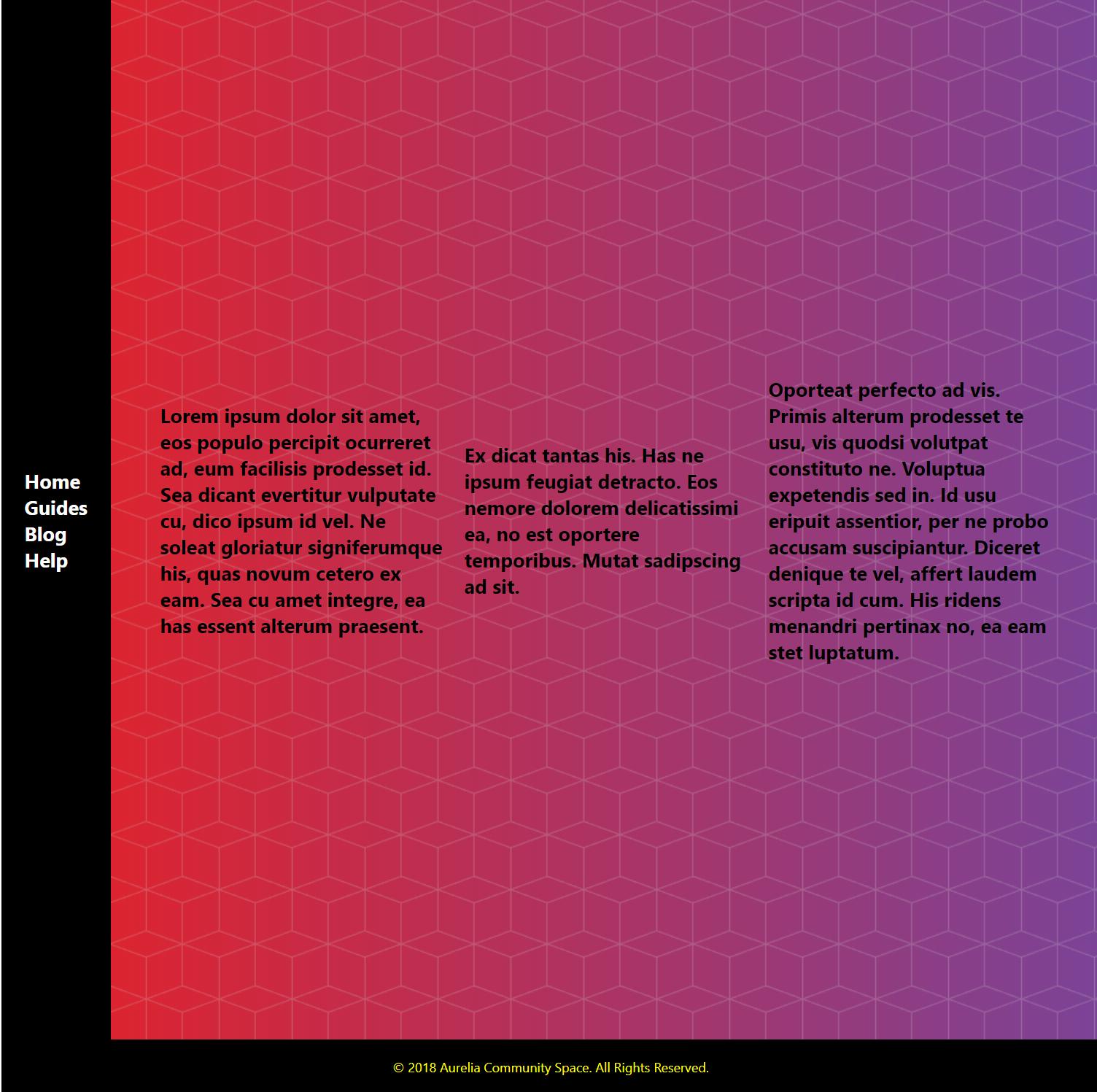 Build the aurelia-community space portal · Issue #2