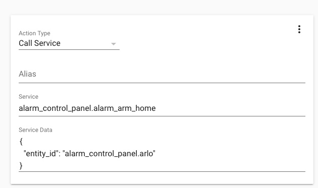 Developers - Arlo alarm_control_panel cannot be armed_away